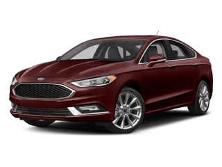 Burgundy Velvet Metallic Tinted Clearcoat 2017 Ford Fusion Pictures Fusion Sedan 4D Platinum AWD I4 Turbo photos front view