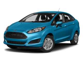 Blue Candy Metallic Tinted Clearcoat 2017 Ford Fiesta Pictures Fiesta Sedan 4D SE I4 photos front view