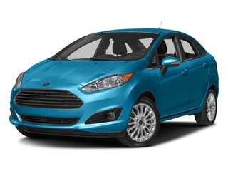Blue Candy Metallic Tinted Clearcoat 2017 Ford Fiesta Pictures Fiesta Sedan 4D Titanium I4 photos front view
