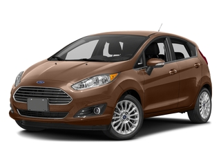 Chrome Copper Metallic 2017 Ford Fiesta Pictures Fiesta Hatchback 5D Titanium I4 photos front view