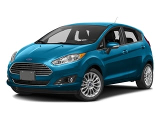 Blue Candy Metallic Tinted Clearcoat 2017 Ford Fiesta Pictures Fiesta Hatchback 5D Titanium I4 photos front view