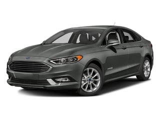 Magnetic 2017 Ford Fusion Pictures Fusion Sedan 4D SE I4 Hybrid photos front view