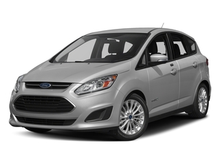 Ingot Silver Metallic 2017 Ford C-Max Hybrid Pictures C-Max Hybrid Hatchback 5D SE I4 Hybrid photos front view