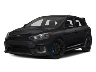 Shadow Black 2017 Ford Focus Pictures Focus Hatchback 5D RS AWD I4 Turbo photos front view