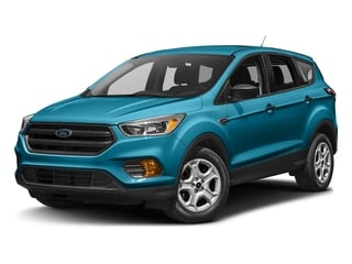 Lightning Blue Metallic 2017 Ford Escape Pictures Escape Utility 4D S 2WD I4 photos front view