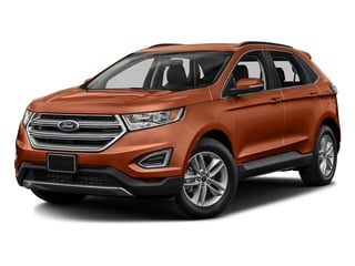 Canyon Ridge Metallic 2017 Ford Edge Pictures Edge Utility 4D SEL 2WD V6 photos front view
