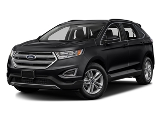 Shadow Black 2017 Ford Edge Pictures Edge Utility 4D SEL 2WD V6 photos front view