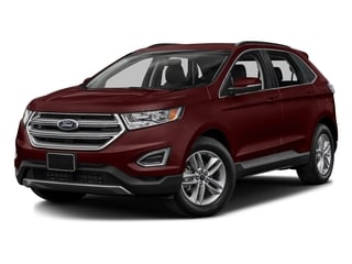 Burgundy Velvet Metallic Tinted Clearcoat 2017 Ford Edge Pictures Edge Utility 4D SEL 2WD V6 photos front view