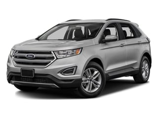 Ingot Silver Metallic 2017 Ford Edge Pictures Edge Utility 4D SEL 2WD V6 photos front view
