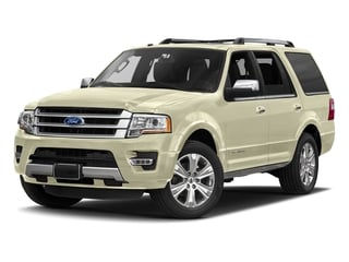 White Gold 2017 Ford Expedition Pictures Expedition Utility 4D Platinum 2WD V6 Turbo photos front view