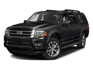Shadow Black 2017 Ford Expedition EL Pictures Expedition EL Utility 4D XLT 4WD V6 Turbo photos front view