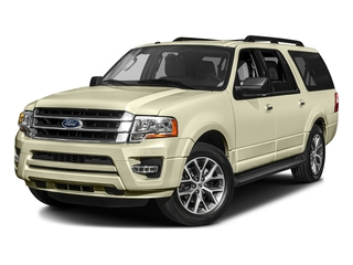 White Gold 2017 Ford Expedition EL Pictures Expedition EL Utility 4D XLT 4WD V6 Turbo photos front view