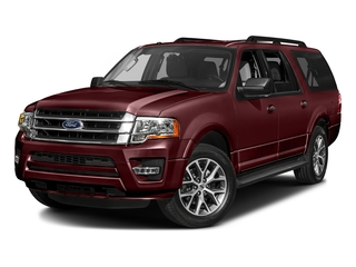 Bronze Fire 2017 Ford Expedition EL Pictures Expedition EL Utility 4D XLT 4WD V6 Turbo photos front view