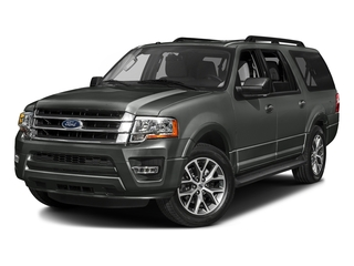 Magnetic 2017 Ford Expedition EL Pictures Expedition EL Utility 4D XLT 4WD V6 Turbo photos front view