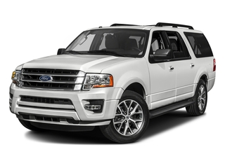 White Platinum Metallic Tri-Coat 2017 Ford Expedition EL Pictures Expedition EL Utility 4D XLT 4WD V6 Turbo photos front view