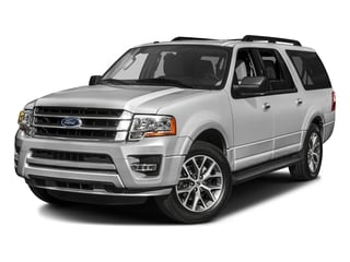Ingot Silver 2017 Ford Expedition EL Pictures Expedition EL Utility 4D XLT 4WD V6 Turbo photos front view