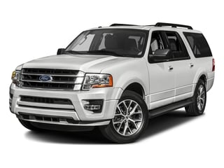 Oxford White 2017 Ford Expedition EL Pictures Expedition EL Utility 4D XLT 4WD V6 Turbo photos front view