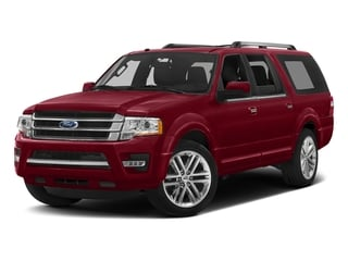 Ruby Red Metallic Tinted Clearcoat 2017 Ford Expedition EL Pictures Expedition EL Utility 4D Limited 4WD V6 Turbo photos front view