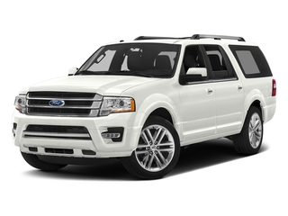 White Platinum Metallic Tri-Coat 2017 Ford Expedition EL Pictures Expedition EL Utility 4D Limited 4WD V6 Turbo photos front view