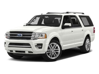 White Platinum Metallic Tri-Coat 2017 Ford Expedition EL Pictures Expedition EL Utility 4D Limited 2WD V6 Turbo photos front view