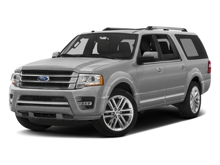 Ingot Silver 2017 Ford Expedition EL Pictures Expedition EL Utility 4D Limited 4WD V6 Turbo photos front view