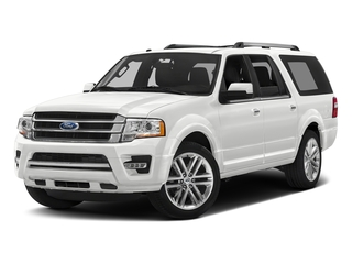 Oxford White 2017 Ford Expedition EL Pictures Expedition EL Utility 4D Limited 4WD V6 Turbo photos front view