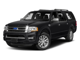Shadow Black 2017 Ford Expedition EL Pictures Expedition EL Utility 4D King Ranch 4WD V6 Turbo photos front view