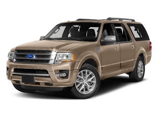 White Gold 2017 Ford Expedition EL Pictures Expedition EL Utility 4D King Ranch 4WD V6 Turbo photos front view