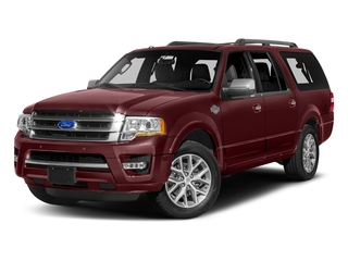 Bronze Fire 2017 Ford Expedition EL Pictures Expedition EL Utility 4D King Ranch 4WD V6 Turbo photos front view