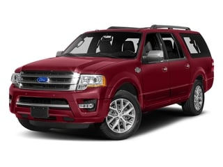 Ruby Red Metallic Tinted Clearcoat 2017 Ford Expedition EL Pictures Expedition EL Utility 4D King Ranch 4WD V6 Turbo photos front view
