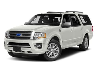 White Platinum Metallic Tri-Coat 2017 Ford Expedition EL Pictures Expedition EL Utility 4D King Ranch 4WD V6 Turbo photos front view