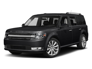 Shadow Black 2017 Ford Flex Pictures Flex Wagon 4D Limited AWD photos front view