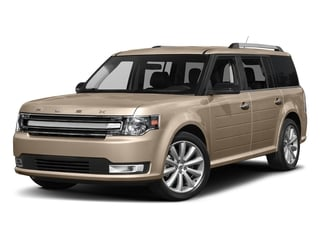 White Gold Metallic 2017 Ford Flex Pictures Flex Wagon 4D Limited AWD photos front view