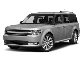 Ingot Silver Metallic 2017 Ford Flex Pictures Flex Wagon 4D Limited AWD photos front view