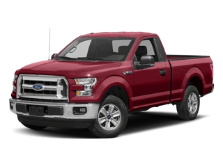 Ruby Red Metallic Tinted Clearcoat 2017 Ford F-150 Pictures F-150 Regular Cab XLT 4WD photos front view