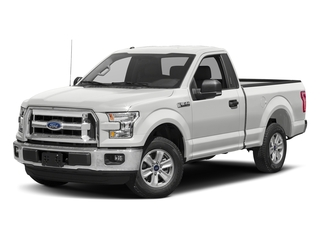 Oxford White 2017 Ford F-150 Pictures F-150 Regular Cab XLT 4WD photos front view