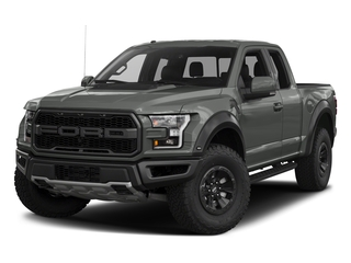 Magnetic Metallic 2017 Ford F-150 Pictures F-150 SuperCab Raptor 4WD photos front view