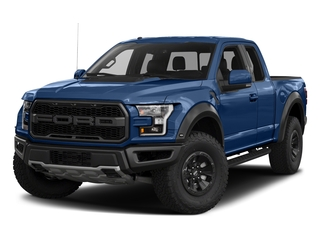 Lightning Blue 2017 Ford F-150 Pictures F-150 SuperCab Raptor 4WD photos front view