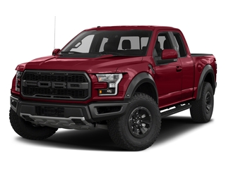 Ruby Red Metallic Tinted Clearcoat 2017 Ford F-150 Pictures F-150 SuperCab Raptor 4WD photos front view