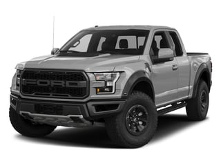Ingot Silver Metallic 2017 Ford F-150 Pictures F-150 SuperCab Raptor 4WD photos front view