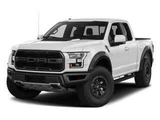 Oxford White 2017 Ford F-150 Pictures F-150 SuperCab Raptor 4WD photos front view