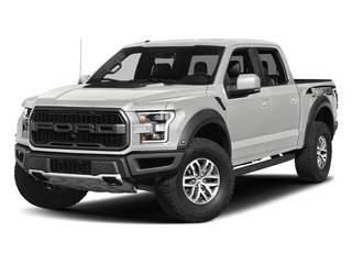 Oxford White 2017 Ford F-150 Pictures F-150 Crew Cab Raptor 4WD photos front view