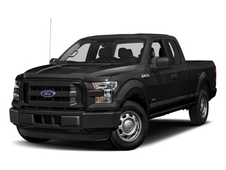 Shadow Black 2017 Ford F-150 Pictures F-150 Supercab XL 4WD photos front view