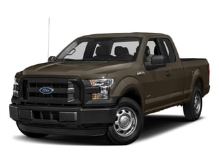 Caribou Metallic 2017 Ford F-150 Pictures F-150 Supercab XL 4WD photos front view
