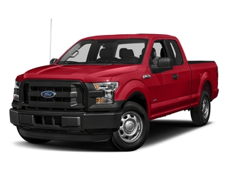 Race Red 2017 Ford F-150 Pictures F-150 Supercab XL 4WD photos front view