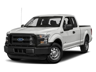 Oxford White 2017 Ford F-150 Pictures F-150 Supercab XL 4WD photos front view