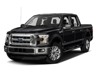 Shadow Black 2017 Ford F-150 Pictures F-150 Crew Cab XLT 2WD photos front view