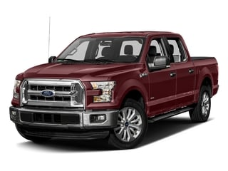 Bronze Fire Metallic 2017 Ford F-150 Pictures F-150 Crew Cab XLT 2WD photos front view