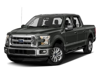 Magnetic Metallic 2017 Ford F-150 Pictures F-150 Crew Cab XLT 2WD photos front view