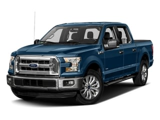Blue Jeans Metallic 2017 Ford F-150 Pictures F-150 Crew Cab XLT 2WD photos front view